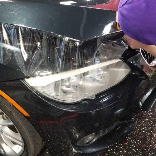 Vehicle paint protection film installation Auburn Hills MI