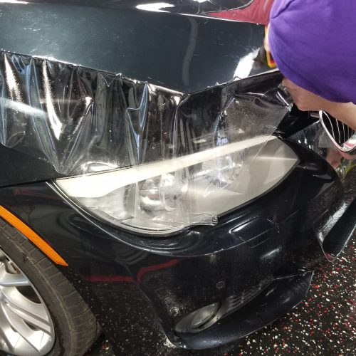 SUV paint protection film installation service near me