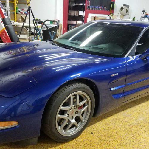 corvette window tinting shop clarkston mi