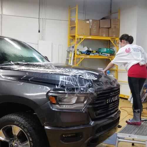 Vehicle paint protection film installation Birmingham MI