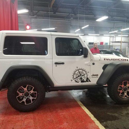 Jeep tinting shop near me Michigan